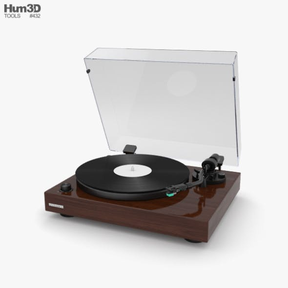 Record Player - 3DOcean Item for Sale