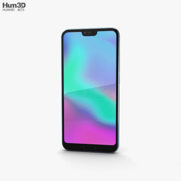 Huawei Honor 10 Glacier Grey - 3DOcean Item for Sale