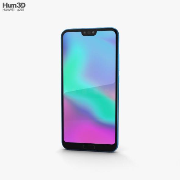 Huawei Honor 10 Phantom Blue - 3DOcean Item for Sale
