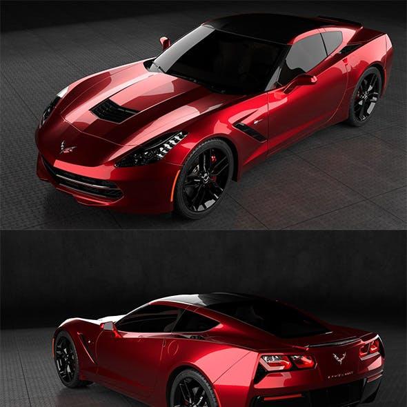 car Chevrolet Corvette Stingray C7
