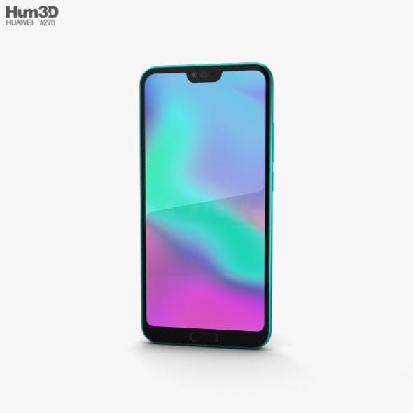 Huawei Honor 10 Phantom Green - 3DOcean Item for Sale