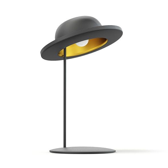 Hat Shaped Desk Lamp 3D Model