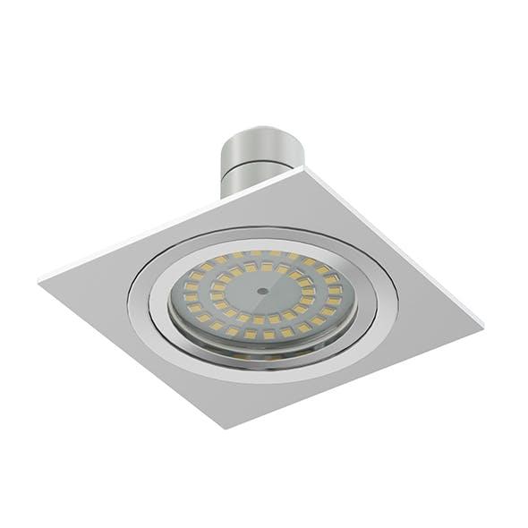 Halogen Light 3D Model - 3DOcean Item for Sale