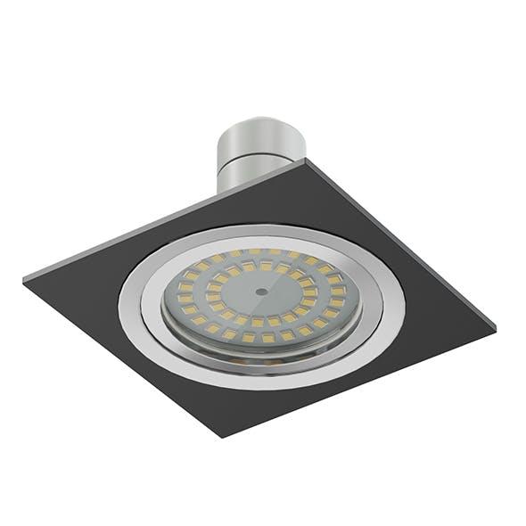 Black Halogen Light 3D Model - 3DOcean Item for Sale