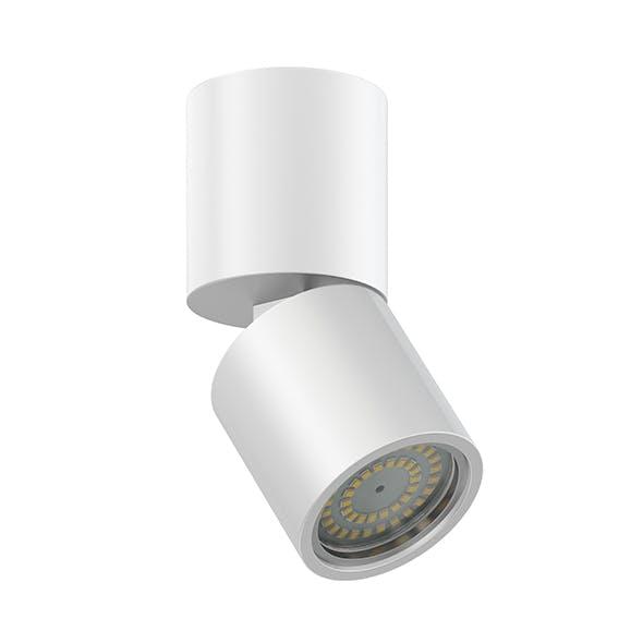 Metal Cylindrical Light 3D Model - 3DOcean Item for Sale