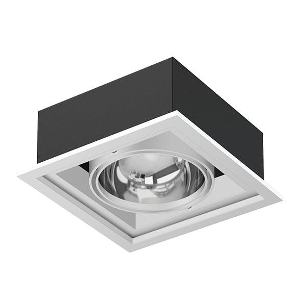 Ceiling Light 3D Model - 3DOcean Item for Sale