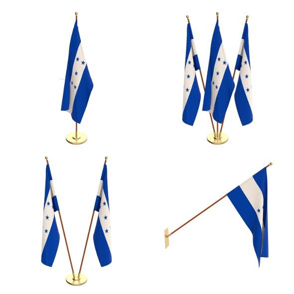 Honduras Flag Pack - 3DOcean Item for Sale
