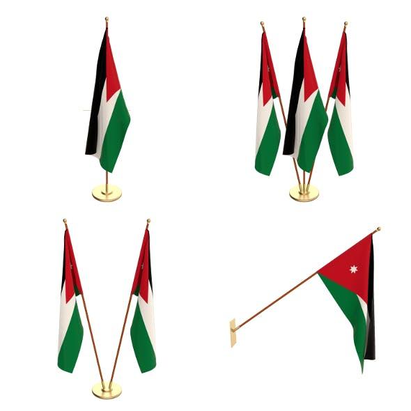 Jordan Flag Pack - 3DOcean Item for Sale