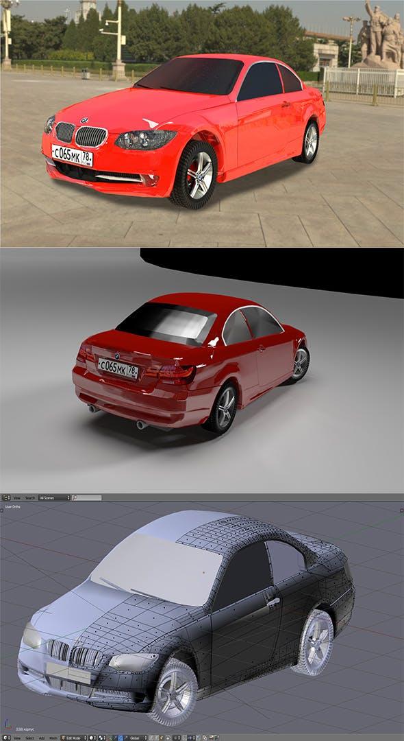 car BMW 3s - 3DOcean Item for Sale