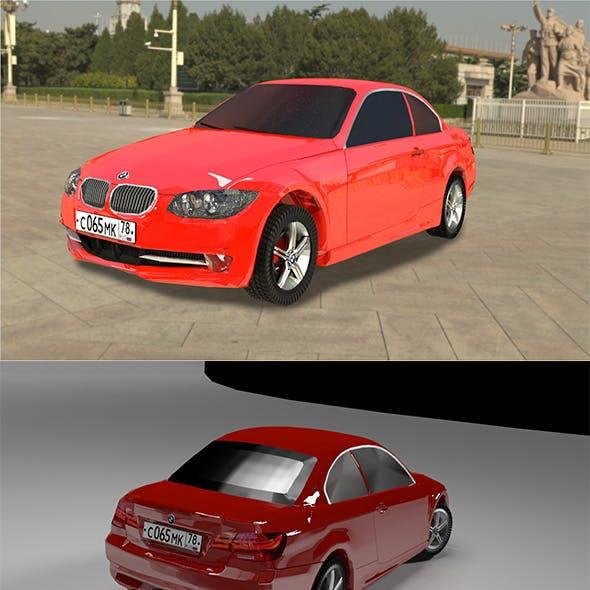 car BMW 3s