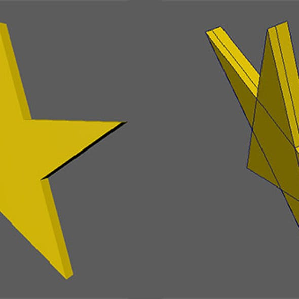 STAR Five pointed star