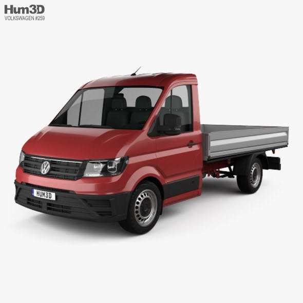 Volkswagen Crafter Single Cab Dropside 2017