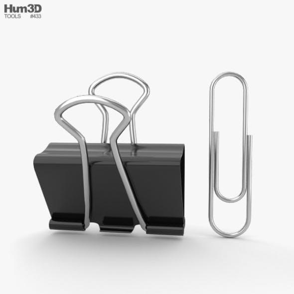 Paper Clip - 3DOcean Item for Sale