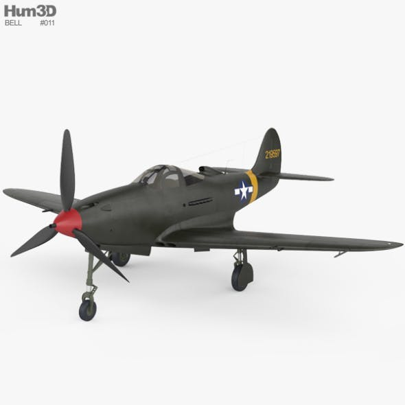Bell P-39 Airacobra - 3DOcean Item for Sale