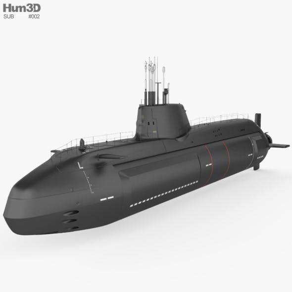 HMS Astute - 3DOcean Item for Sale