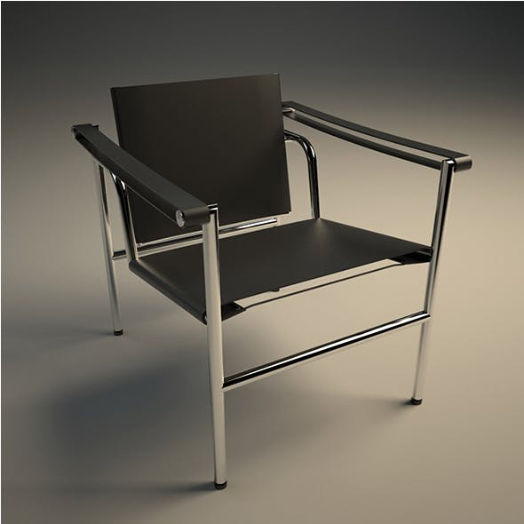 Sling Chair LC1 - 3DOcean Item for Sale