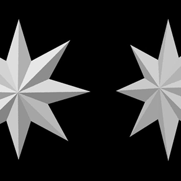 STAR eight pointed star