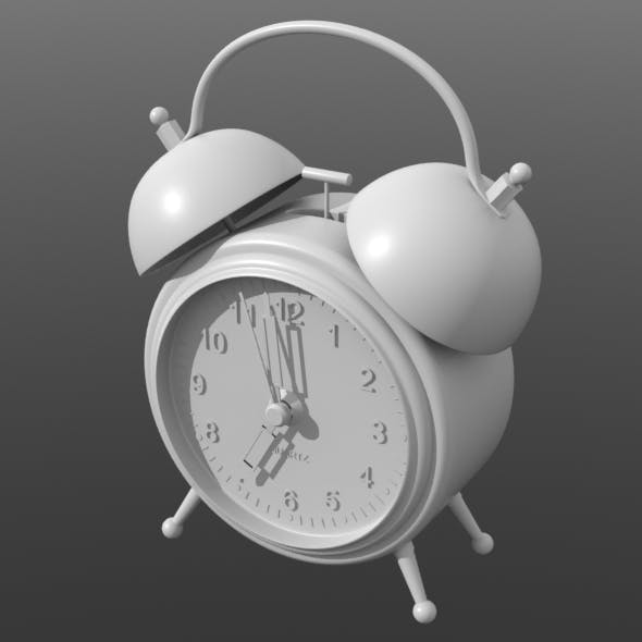 Alarm-clock - 3DOcean Item for Sale