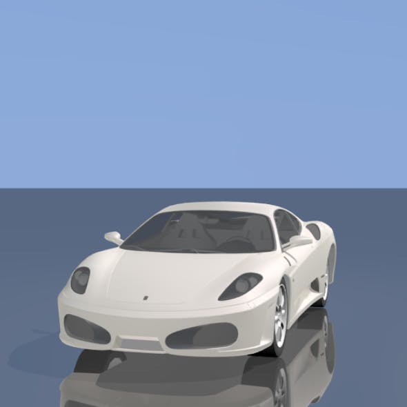 Ferrari car - 3DOcean Item for Sale