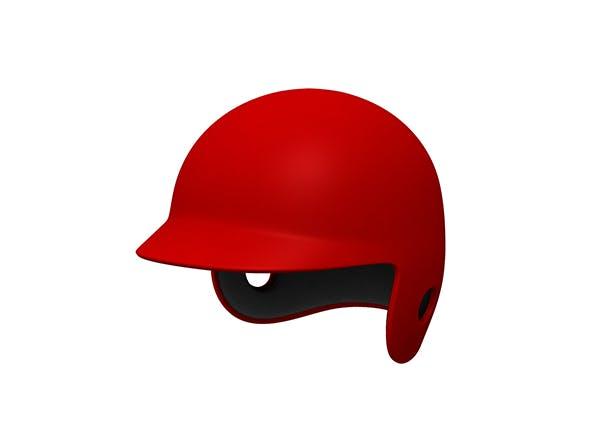 Baseball Helmet - 3DOcean Item for Sale