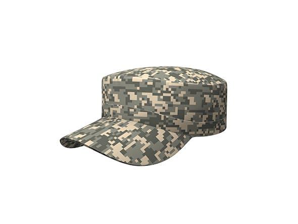 Patrol Cap - 3DOcean Item for Sale