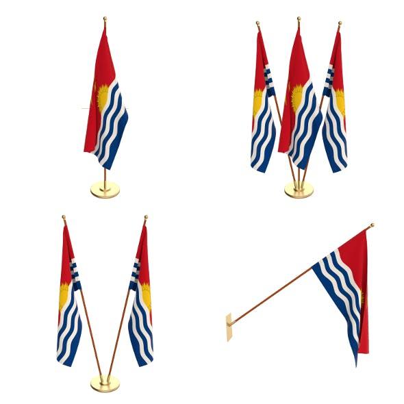 Kiribati Flag Pack - 3DOcean Item for Sale
