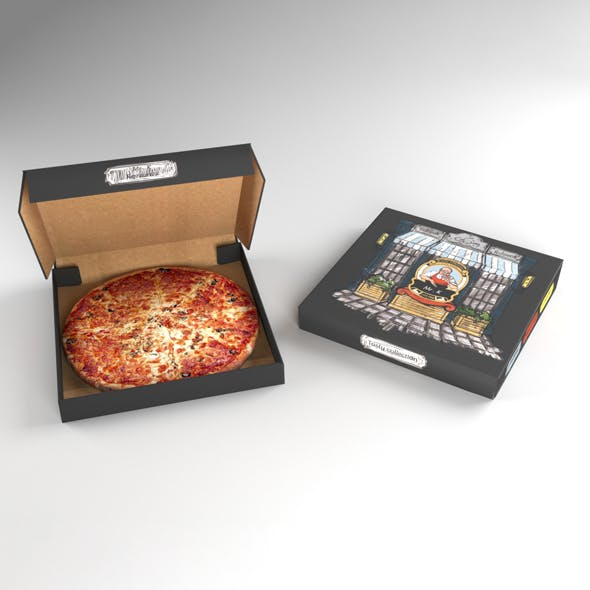Pizza Package - 3DOcean Item for Sale