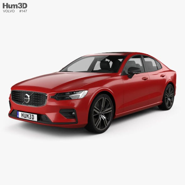 Volvo S60 T6 R-Design 2019 - 3DOcean Item for Sale