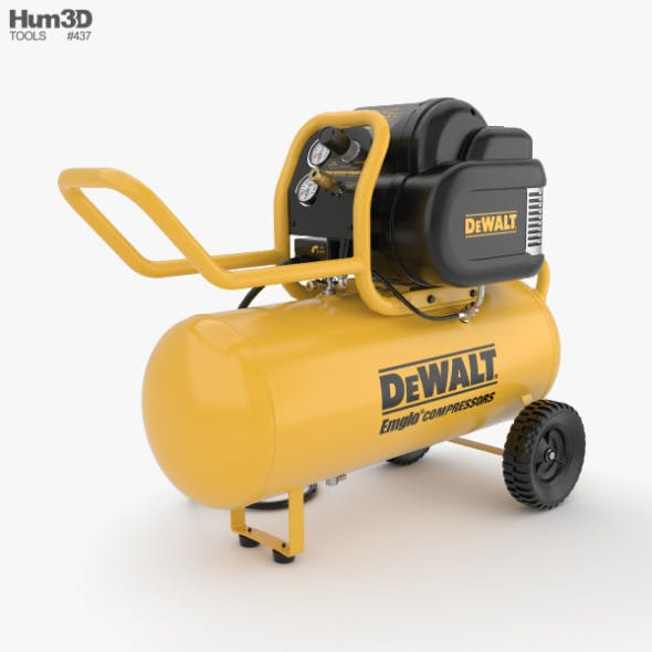 DeWalt Air Compressor - 3DOcean Item for Sale