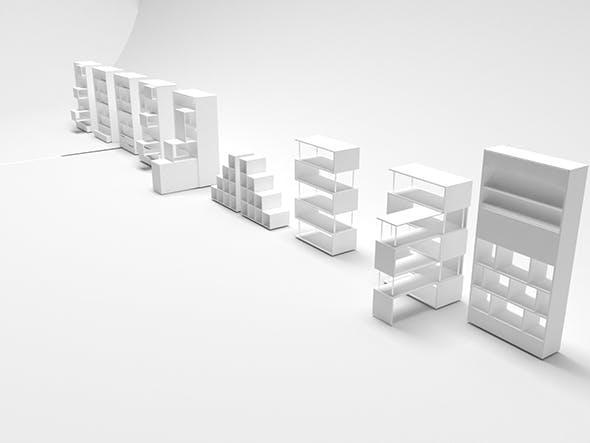 Cabinet Model - 3DOcean Item for Sale