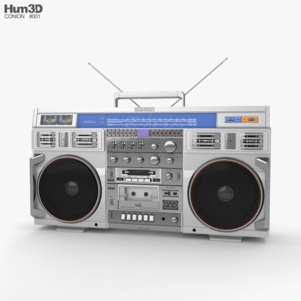 Conion C-100F Boombox - 3DOcean Item for Sale