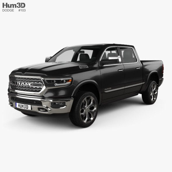 Dodge Ram 1500 Crew Cab Limited 5-foot 7-inch Box 2019