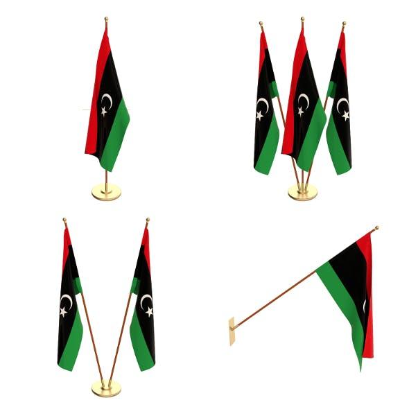 Libya Flag Pack - 3DOcean Item for Sale