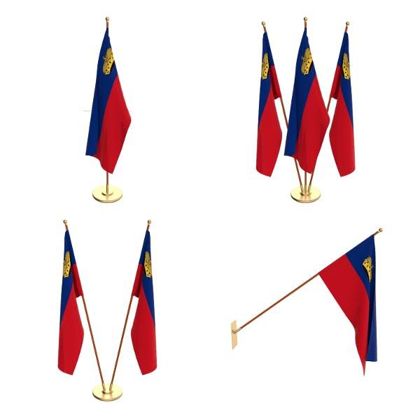 Liechtenstein Flag Pack - 3DOcean Item for Sale
