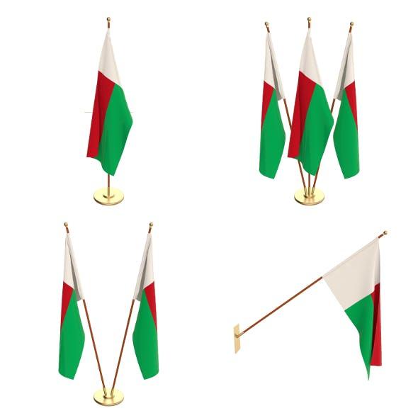Madagascar Flag Pack - 3DOcean Item for Sale