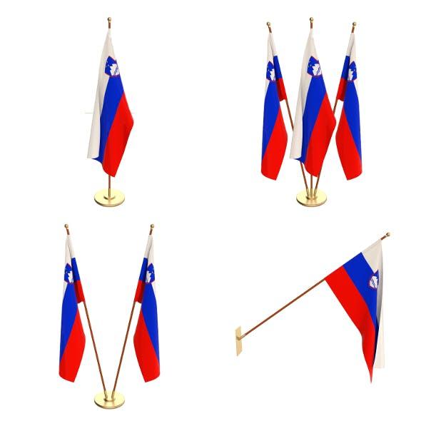 Slovenia Flag Pack - 3DOcean Item for Sale