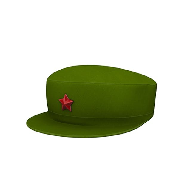 Chinese Army Cap
