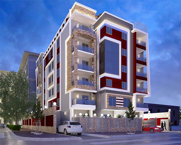 exterior architecture vol 1 - 3DOcean Item for Sale