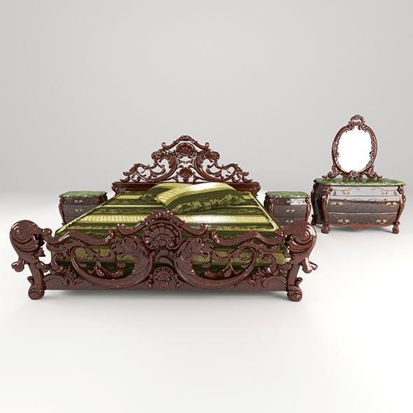 furnitureSet - 3DOcean Item for Sale