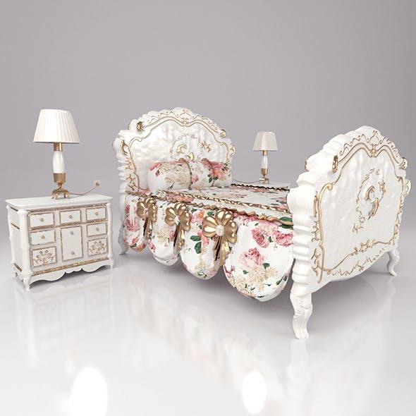 LuxurySetBedroom_71 - 3DOcean Item for Sale