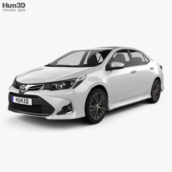 Toyota Corolla Sport 2018 - 3DOcean Item for Sale