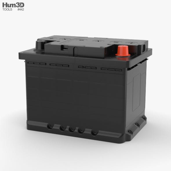Car Battery - 3DOcean Item for Sale