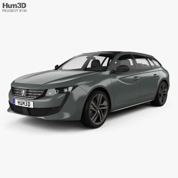 Peugeot 508 SW GT 2018 - 3DOcean Item for Sale