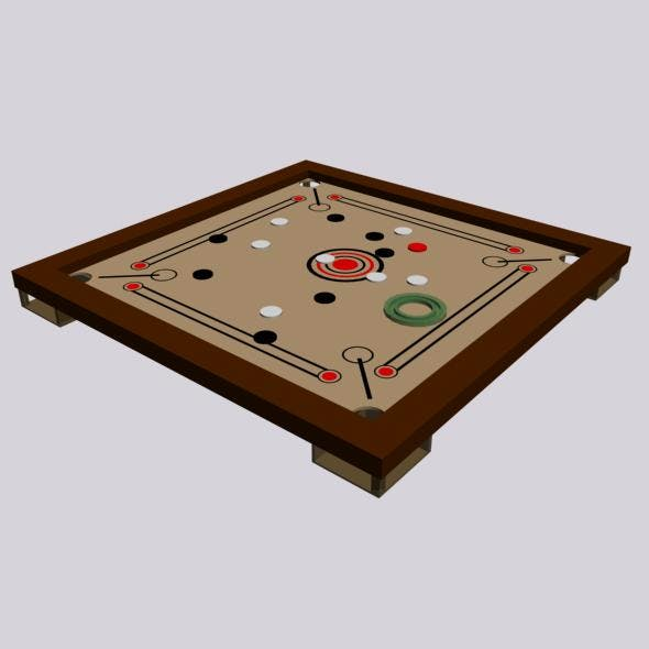Carrom board - 3DOcean Item for Sale