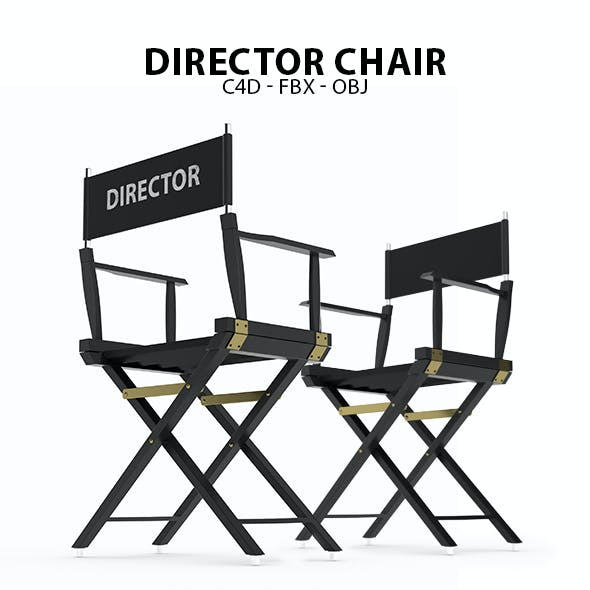 Director's Chair 3D Model