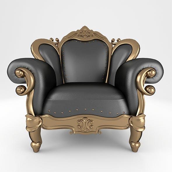 Luxury_Armchair_158 - 3DOcean Item for Sale
