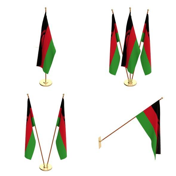 Malawi Flag Pack - 3DOcean Item for Sale