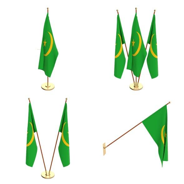 Mauritania Flag Pack - 3DOcean Item for Sale