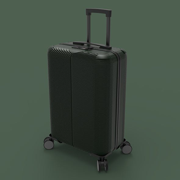 cabin luggage suitcase - 3DOcean Item for Sale
