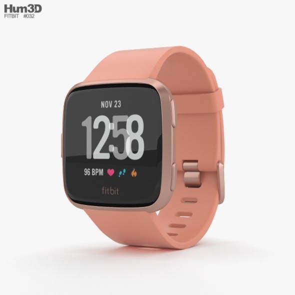 Fitbit Versa Peach - 3DOcean Item for Sale